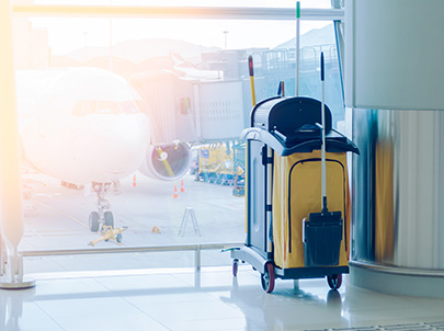 GCG offers Aircraft Janitorial Services in the Caribbean and Latin America