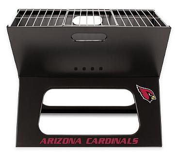 portable Cardinals grill