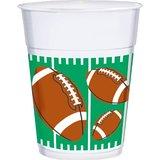 plastic football cups