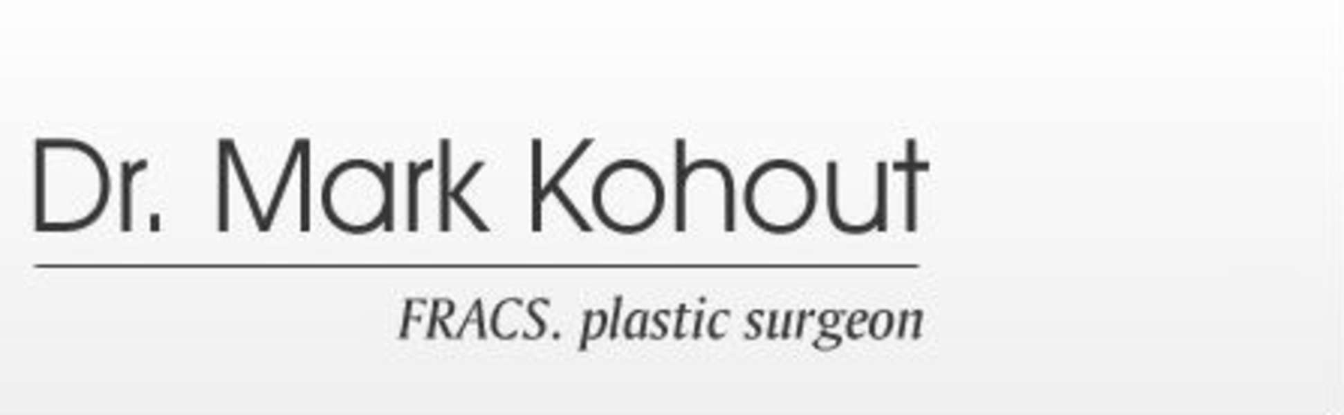 Dr Mark Kohout, Plastic Surgery - Orange
