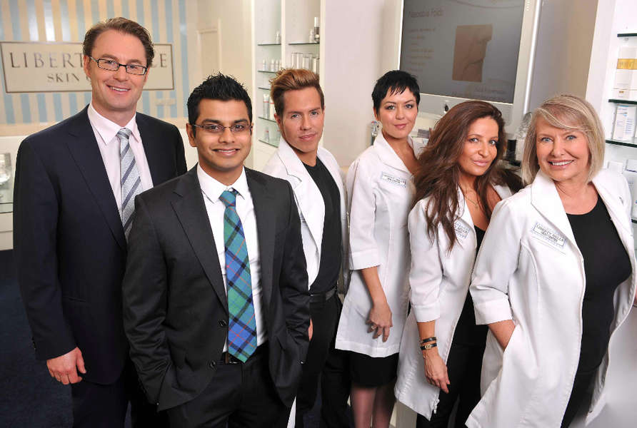 Dr Chris Moss and Liberty Belle Skin Centre