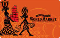 World Market ( GIFT CARDS ONLY)