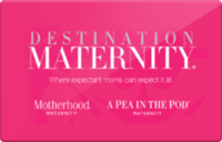 Discounted Destination Maternity  Gift Cards