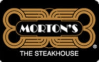 Discounted Morton's Steak House Gift Cards