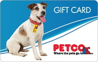 PetCo (Gift Cards Only)