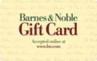 Discounted Barnes & Noble Gift Cards