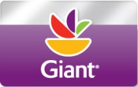 Discounted Giant Foods Gift Cards