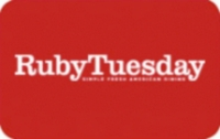 Discounted Ruby Tuesday Gift Cards