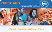 Discounted FYE Gift Cards