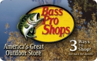 Discounted Bass Pro Shops Gift Cards