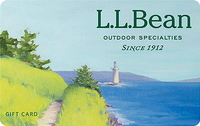 Discounted L.L.Bean Gift Cards