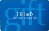 Discounted Dillard's Gift Cards