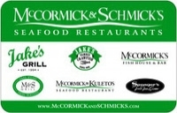 Discounted McCormick and Schmicks Gift Cards