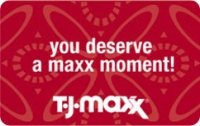 Discounted T.J. Maxx Gift Cards
