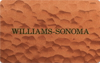 Discounted Williams Sonoma  Gift Cards