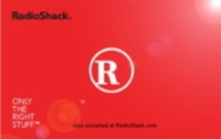 Discounted Radio Shack  Gift Cards