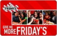 Discounted TGI Friday's Gift Cards