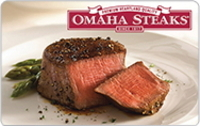 Discounted Omaha Steaks  Gift Cards