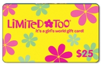 Discounted Limited Too Gift Cards