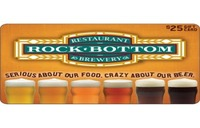 Discounted Rock Bottom Brewery & Restaurant   Gift Cards