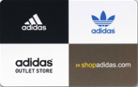 Discounted Adidas  Gift Cards