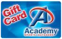 Discounted Academy Sports  Gift Cards