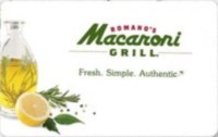 Discounted Romano's Macaroni Grill Gift Cards