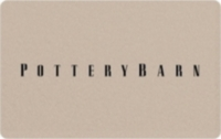 Discounted Pottery Barn  Gift Cards