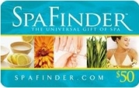 Discounted Spa Finder Gift Cards