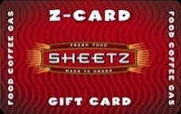 Discounted Sheetz Gift Cards