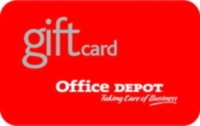 Discounted Office Depot Gift Cards