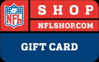 Discounted NFL Shop Gift Cards