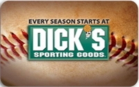 Discounted Dick's Sporting Goods Gift Cards