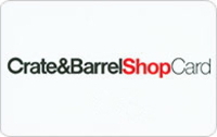 Discounted Crate and Barrel Gift Cards