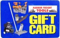 Discounted Harbor Freight Tools Gift Cards