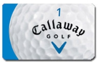Discounted Callaway Golf Gift Cards