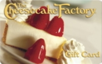 Discounted Cheesecake Factory Gift Cards
