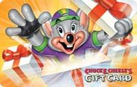Discounted Chuck E. Cheese Gift Cards