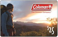 Discounted Coleman Gift Cards