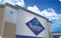 Discounted Sam's Club Gift Cards
