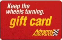 Discounted Advance Auto Parts Gift Cards