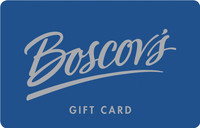 Discounted Boscov's Store Gift Cards