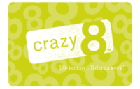 Crazy 8 (Gift Card Only)
