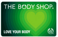 Discounted Body Shop Gift Cards