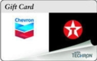Discounted Chevron/Texaco Gift Cards