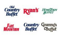 Old Country Buffet , Ryan's, HomeTown Buffet, Fire Mountain, Country Buffet, Granny's Buffet