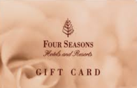Discounted Four Seasons Gift Cards