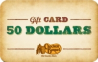 Discounted Cracker Barrel Restaurant Gift Cards