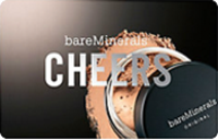 Discounted Bare Minerals  Gift Cards