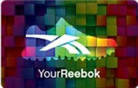 Discounted Reebok Gift Cards